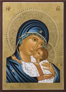 """""""Maria occupa nella Chiesa, dopo Cristo, il posto piu' alto e piu' vicino a noi"""" L.G. n. 54"""