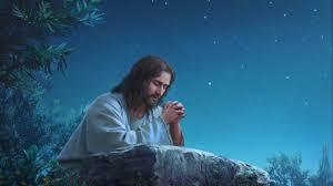 Gesu in preghiera